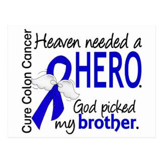 El cielo necesitó un cáncer de colon Brother del h Postales