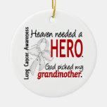 El cielo necesitó un cáncer de pulmón de la abuela adorno de navidad