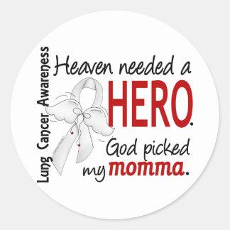 El cielo necesitó un cáncer de pulmón de Momma del Etiquetas Redondas