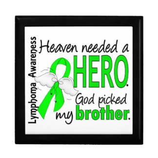 El cielo necesitó un linfoma de Brother del héroe Caja De Recuerdo