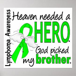 El cielo necesitó un linfoma de Brother del héroe Posters