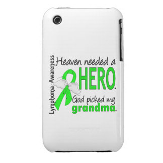 El cielo necesitó un linfoma de la abuela del héro Case-Mate iPhone 3 carcasa