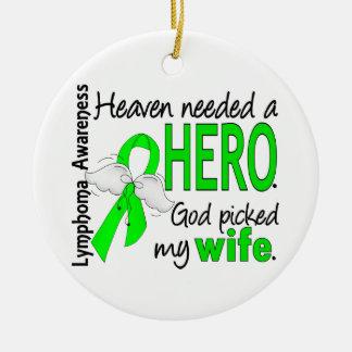 El cielo necesitó un linfoma de la esposa del héro ornatos