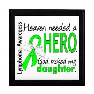 El cielo necesitó un linfoma de la hija del héroe cajas de joyas