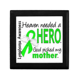 El cielo necesitó un linfoma de la madre del héroe cajas de joyas