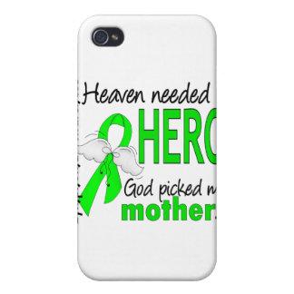 El cielo necesitó un linfoma de la madre del héroe iPhone 4 carcasas