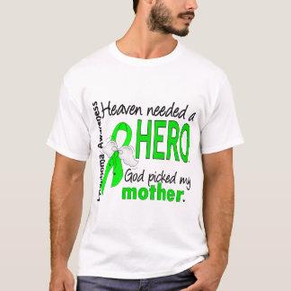 El cielo necesitó un linfoma de la madre del héroe playera