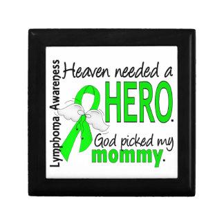 El cielo necesitó un linfoma de la mamá del héroe caja de regalo