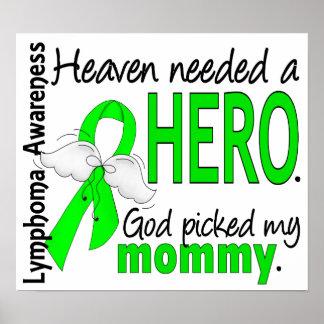 El cielo necesitó un linfoma de la mamá del héroe impresiones