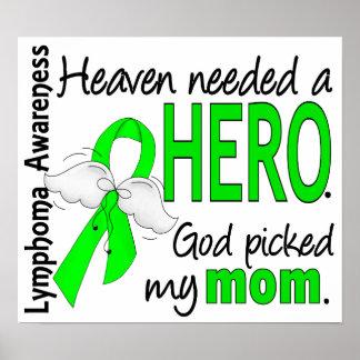 El cielo necesitó un linfoma de la mamá del héroe póster