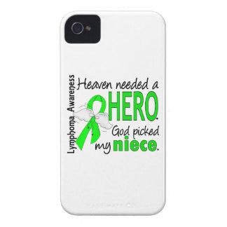 El cielo necesitó un linfoma de la sobrina del hér iPhone 4 Case-Mate carcasas