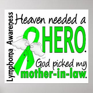 El cielo necesitó un linfoma de la suegra del héro posters
