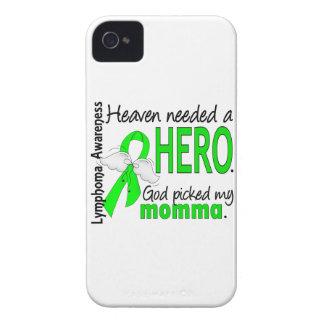 El cielo necesitó un linfoma de Momma del héroe iPhone 4 Case-Mate Cárcasa