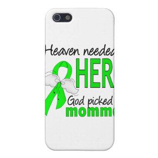 El cielo necesitó un linfoma de Momma del héroe iPhone 5 Fundas