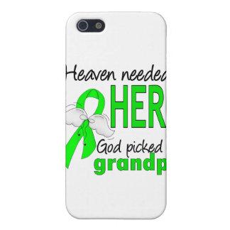 El cielo necesitó un linfoma del abuelo del héroe iPhone 5 carcasas