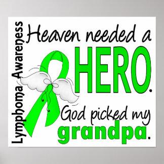 El cielo necesitó un linfoma del abuelo del héroe póster