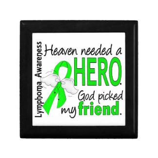 El cielo necesitó un linfoma del amigo del héroe cajas de recuerdo