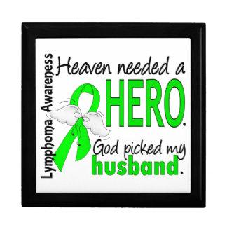 El cielo necesitó un linfoma del marido del héroe cajas de recuerdo