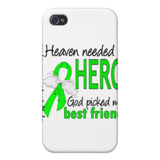El cielo necesitó un linfoma del mejor amigo del h iPhone 4 fundas