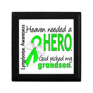 El cielo necesitó un linfoma del nieto del héroe cajas de joyas