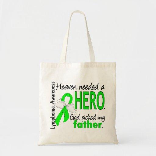 El cielo necesitó un linfoma del padre del héroe bolsa tela barata