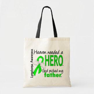El cielo necesitó un linfoma del padre del héroe bolsa lienzo
