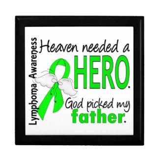 El cielo necesitó un linfoma del padre del héroe caja de recuerdo