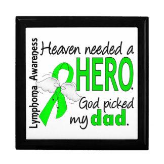 El cielo necesitó un linfoma del papá del héroe cajas de regalo