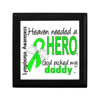 El cielo necesitó un linfoma del papá del héroe cajas de recuerdo