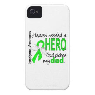 El cielo necesitó un linfoma del papá del héroe Case-Mate iPhone 4 coberturas