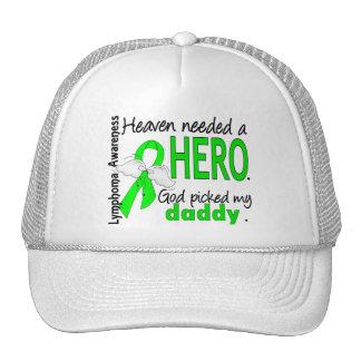 El cielo necesitó un linfoma del papá del héroe gorras