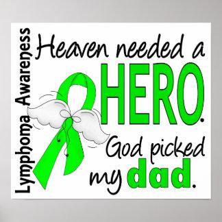 El cielo necesitó un linfoma del papá del héroe posters