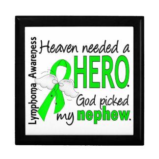 El cielo necesitó un linfoma del sobrino del héroe caja de recuerdo