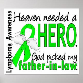 El cielo necesitó un linfoma del suegro del héroe impresiones