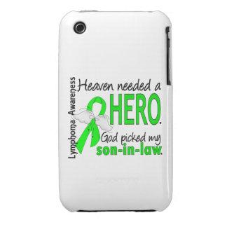 El cielo necesitó un linfoma del yerno del héroe iPhone 3 Case-Mate protector