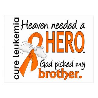 El cielo necesitó una leucemia de Brother del héro Tarjetas Postales