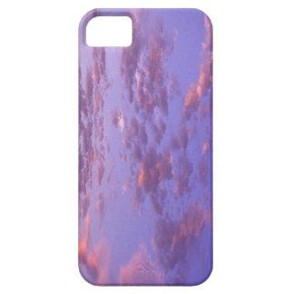 El cielo rosado se nubla la caja de Iphone Funda Para iPhone SE/5/5s