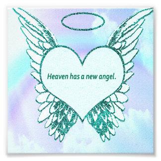 El cielo tiene un nuevo ángel cojinete