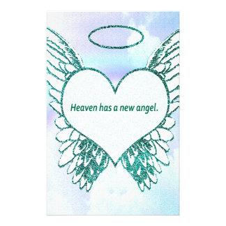 El cielo tiene un nuevo ángel papelería