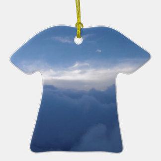 El cielo y las nubes ornamentos para reyes magos