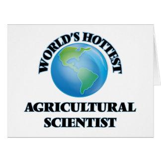 El científico agrícola más caliente del mundo felicitaciones