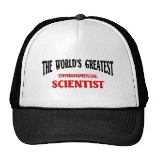 El científico ambiental más grande del mundo gorras