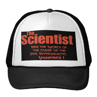 El científico libra el mundo de los gorras malvado