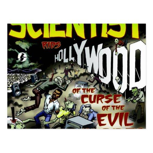 El científico libra Hollywood de los productos de  Tarjeta Postal