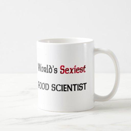 El científico más atractivo de la comida del mundo tazas