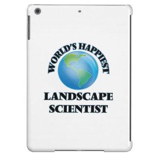 El científico más feliz del paisaje del mundo funda para iPad air