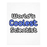 El científico más fresco del mundo membretes personalizados