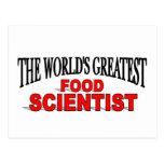 El científico más grande de la comida del mundo postal