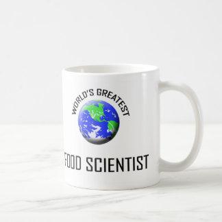 El científico más grande de la comida del mundo tazas