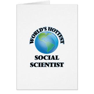 El científico social más caliente del mundo felicitacion